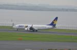 hareotokoさんが、羽田空港で撮影したスカイマーク 737-8Q8の航空フォト(写真)