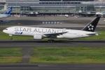 たみぃさんが、羽田空港で撮影した全日空 777-281の航空フォト(写真)