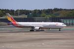 けいとパパさんが、成田国際空港で撮影したアシアナ航空 A330-323Xの航空フォト(写真)