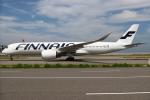 つみネコ♯2さんが、関西国際空港で撮影したフィンエアー A350-941XWBの航空フォト(写真)
