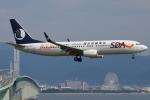 つみネコ♯2さんが、関西国際空港で撮影した山東航空 737-85Nの航空フォト(写真)