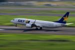 Nao0407さんが、羽田空港で撮影したスカイマーク 737-8FZの航空フォト(写真)