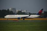 カンクンさんが、成田国際空港で撮影したデルタ航空 767-332/ERの航空フォト(写真)