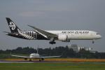 カンクンさんが、成田国際空港で撮影したニュージーランド航空 787-9の航空フォト(写真)