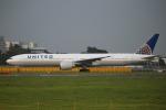 カンクンさんが、成田国際空港で撮影したユナイテッド航空 777-322/ERの航空フォト(写真)