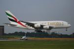 カンクンさんが、成田国際空港で撮影したエミレーツ航空 A380-861の航空フォト(写真)