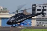 Mizuki24さんが、東京ヘリポートで撮影した日本法人所有 AS350B Ecureuilの航空フォト(写真)