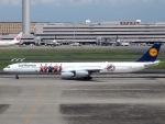 51ANさんが、羽田空港で撮影したルフトハンザドイツ航空 A340-642Xの航空フォト(写真)