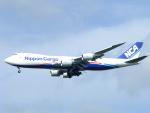 じゅんぼ〜さんが、成田国際空港で撮影した日本貨物航空 747-8KZF/SCDの航空フォト(写真)