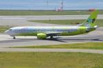 amagoさんが、関西国際空港で撮影したジンエアー 737-86Nの航空フォト(写真)