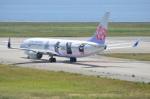 amagoさんが、関西国際空港で撮影したチャイナエアライン 737-8FHの航空フォト(写真)