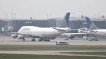 誘喜さんが、ロンドン・ヒースロー空港で撮影したユナイテッド航空 747-422の航空フォト(写真)