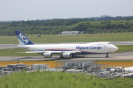 meijeanさんが、成田国際空港で撮影した日本貨物航空 747-8KZF/SCDの航空フォト(写真)