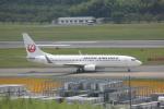 meijeanさんが、成田国際空港で撮影した日本航空 737-846の航空フォト(写真)