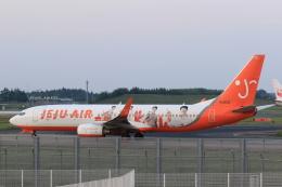多楽さんが、成田国際空港で撮影したチェジュ航空 737-8ALの航空フォト(写真)