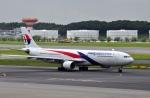 まふまふさんが、成田国際空港で撮影したマレーシア航空 A330-323Xの航空フォト(写真)