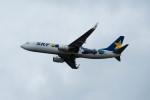 ポン太さんが、新千歳空港で撮影したスカイマーク 737-86Nの航空フォト(写真)