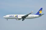 やまちゃんKさんが、那覇空港で撮影したスカイマーク 737-86Nの航空フォト(写真)