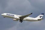 安芸あすかさんが、パリ オルリー空港で撮影したイラン航空 A330-243の航空フォト(写真)