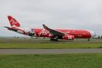 北の熊さんが、新千歳空港で撮影したエアアジア・エックス A330-343Xの航空フォト(写真)