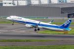 Y-Kenzoさんが、羽田空港で撮影した全日空 A321-211の航空フォト(写真)