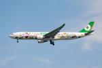 ぱん_くまさんが、羽田空港で撮影したエバー航空 A330-302Xの航空フォト(写真)