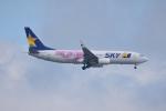 ひこ☆さんが、新千歳空港で撮影したスカイマーク 737-86Nの航空フォト(写真)