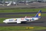 yuitaさんが、羽田空港で撮影したスカイマーク 737-86Nの航空フォト(写真)