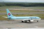 Tomochanさんが、新千歳空港で撮影した大韓航空 737-8LHの航空フォト(写真)