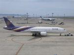 富士のこまきさんが、中部国際空港で撮影したタイ国際航空 777-2D7/ERの航空フォト(写真)