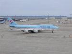 富士のこまきさんが、中部国際空港で撮影した大韓航空 747-4B5の航空フォト(写真)