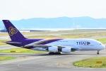 shining star ✈さんが、関西国際空港で撮影したタイ国際航空 A380-841の航空フォト(写真)