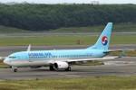 にしやんさんが、新千歳空港で撮影した大韓航空 737-8LHの航空フォト(写真)