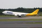 いっとくさんが、成田国際空港で撮影したアトラス航空 747-87UF/SCDの航空フォト(写真)