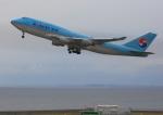 タミーさんが、中部国際空港で撮影した大韓航空 747-4B5の航空フォト(写真)