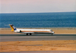 Wasawasa-isaoさんが、中部国際空港で撮影した日本航空 MD-81 (DC-9-81)の航空フォト(写真)