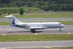 いっとくさんが、成田国際空港で撮影したウィルミントン・トラスト・カンパニー BD-700-1A11 Global 5000の航空フォト(写真)