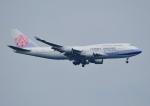 じーく。さんが、新千歳空港で撮影したチャイナエアライン 747-409の航空フォト(写真)