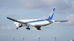 てつさんが、成田国際空港で撮影した全日空 777-381/ERの航空フォト(写真)