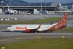 妄想竹さんが、クアラルンプール国際空港で撮影したマリンド・エア 737-8GPの航空フォト(写真)