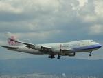 chappyさんが、関西国際空港で撮影したチャイナエアライン 747-409F/SCDの航空フォト(写真)