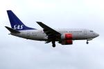 KAW-YGさんが、ロンドン・ヒースロー空港で撮影したスカンジナビア航空 737-683の航空フォト(写真)