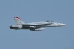 じゃまちゃんさんが、茨城空港で撮影したアメリカ海兵隊 F/A-18C Hornetの航空フォト(写真)
