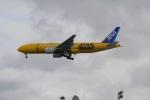 みのぽんさんが、那覇空港で撮影した全日空 777-281/ERの航空フォト(写真)