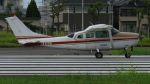 航空見聞録さんが、八尾空港で撮影した大阪航空 TU206G Turbo Stationair 6の航空フォト(写真)