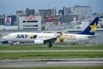rYo1007さんが、福岡空港で撮影したスカイマーク 737-86Nの航空フォト(写真)