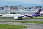 rYo1007さんが、福岡空港で撮影したタイ国際航空 A330-343Xの航空フォト(写真)