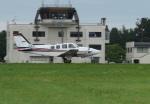 だだちゃ豆さんが、庄内空港で撮影した航空大学校 Baron G58の航空フォト(写真)