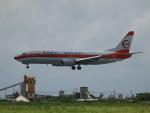 ノリださんが、宮古空港で撮影した日本トランスオーシャン航空 737-446の航空フォト(写真)