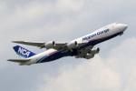 アオアシシギさんが、成田国際空港で撮影した日本貨物航空 747-8KZF/SCDの航空フォト(写真)